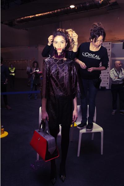 legend-esther-noriega-backstage-mercedes-benz-fashion-week-madrid 5